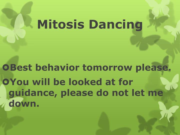 Mitosis Dancing
