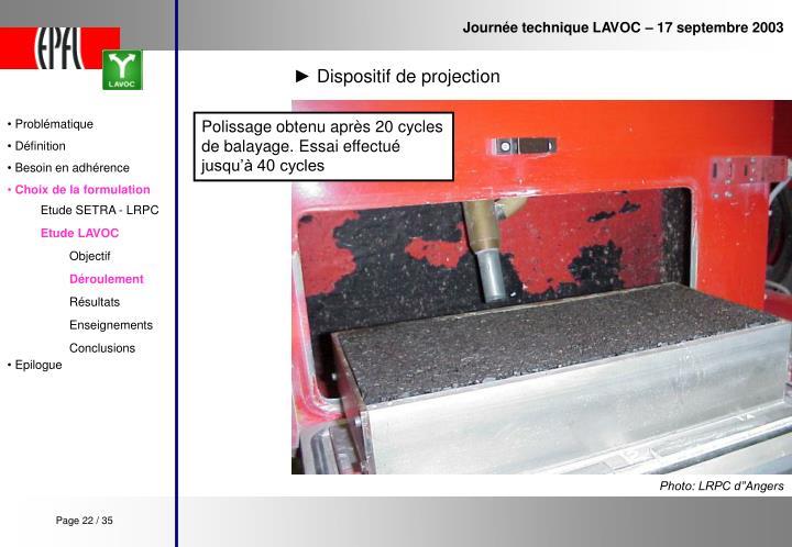 Journée technique LAVOC – 17 septembre 2003