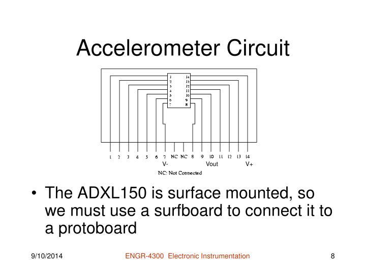 Accelerometer Circuit