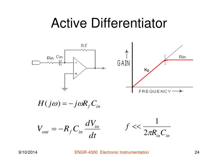 Active Differentiator