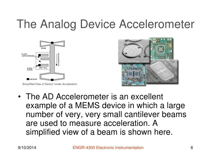 The Analog Device Accelerometer