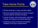 take home points1