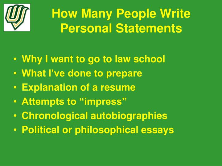 how to write an excellent personal statement How to: write a personal statement by michael cheary not sure what to include in your personal statement excellent analytical and organisational skills.