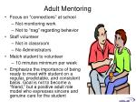 adult mentoring