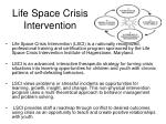 life space crisis intervention