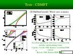 tests cdmft