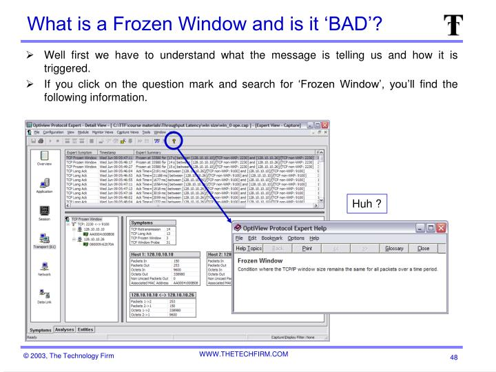 What is a Frozen Window and is it 'BAD'?