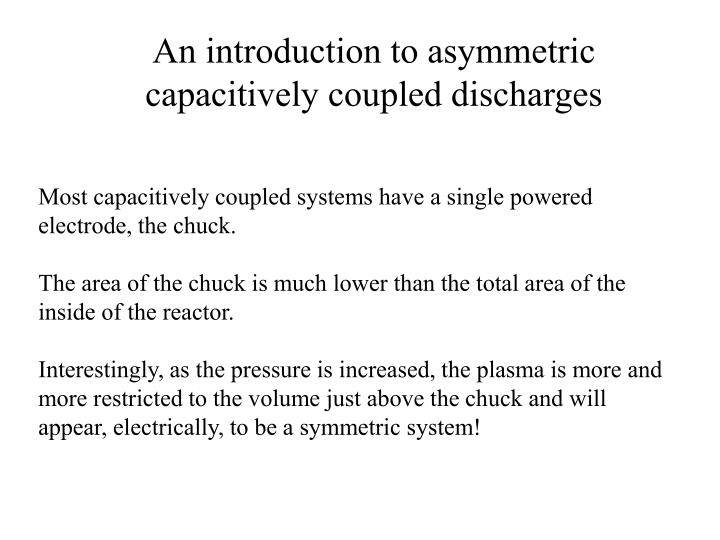 An introduction to asymmetric