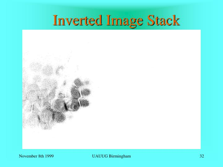 Inverted Image Stack