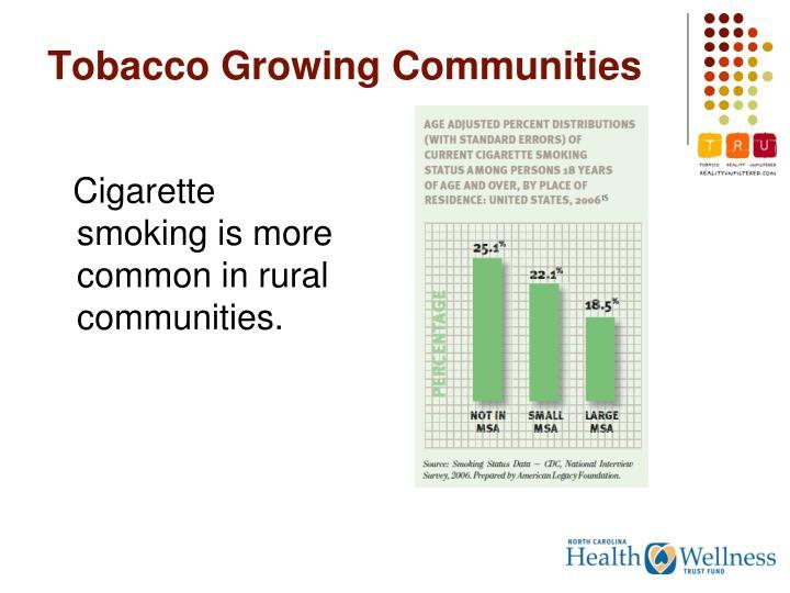 Tobacco Growing Communities