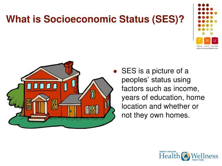 What is Socioeconomic Status (SES)?