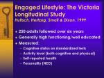 engaged lifestyle the victoria longitudinal study hultsch hertzog small dixon 1999