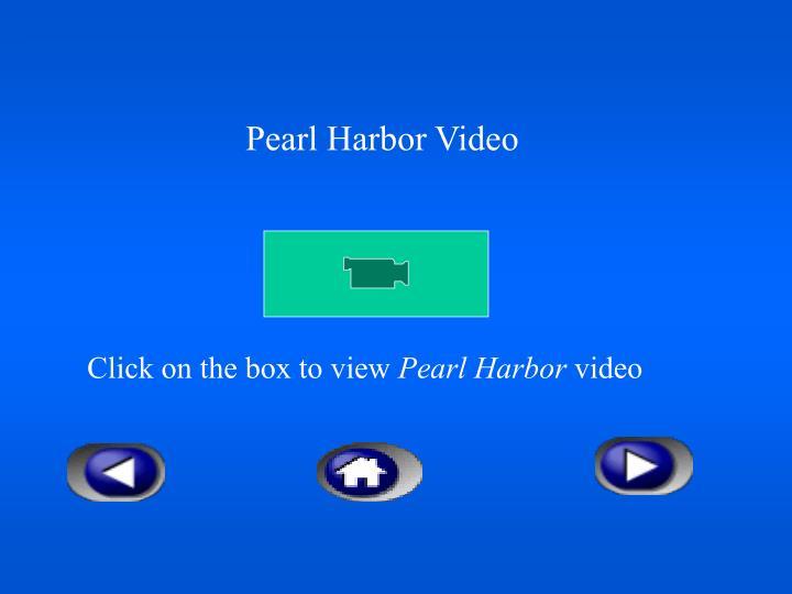 Pearl Harbor Video