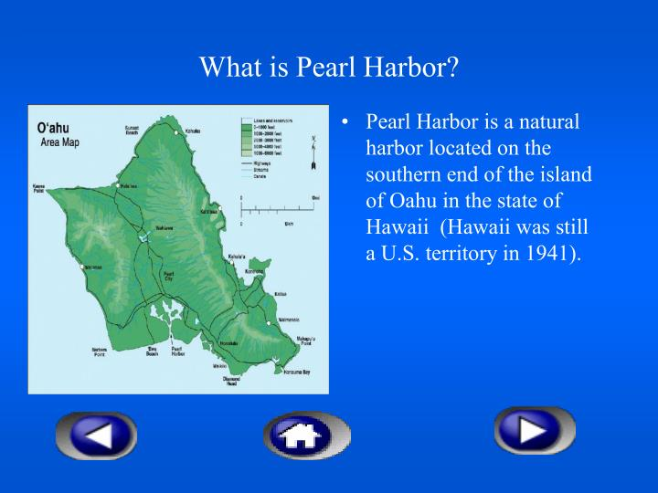 What is Pearl Harbor?