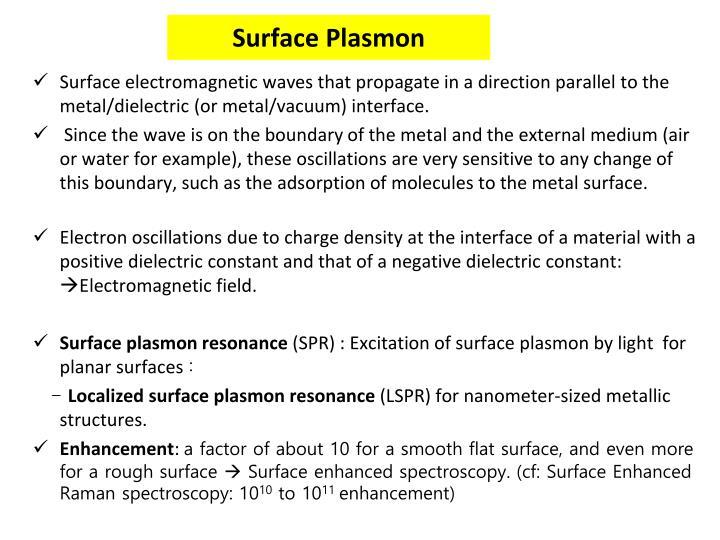 Surface plasmon