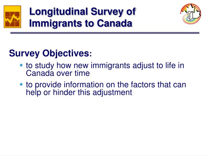 Longitudinal Survey of Immigrants to Canada