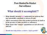 post market in market surveillance2