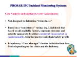 prosar ipc incident monitoring systems2