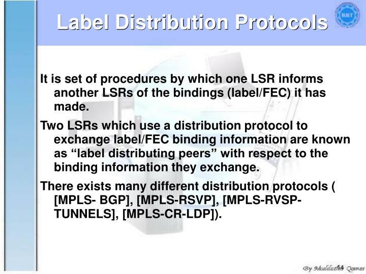 Label Distribution Protocols