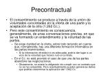 precontractual