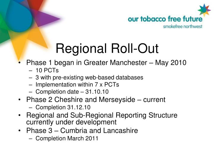 Regional Roll-Out