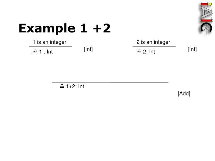 1 is an integer