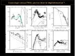 cosmologie versus pahs peut on lever la d g n rescence