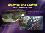 electrical and cabling 2x500 reference plant