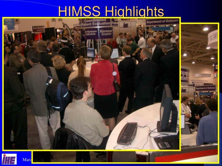 HIMSS Highlights