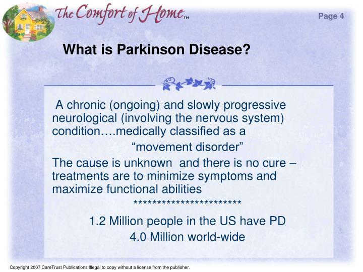 What is parkinson disease