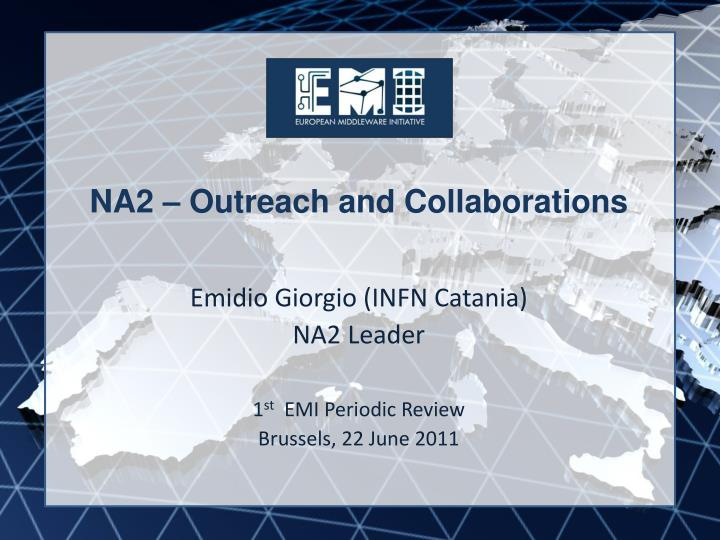 Na2 outreach and collaborations