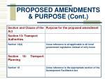 proposed amendments purpose cont1