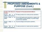 proposed amendments purpose cont11