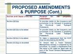 proposed amendments purpose cont3