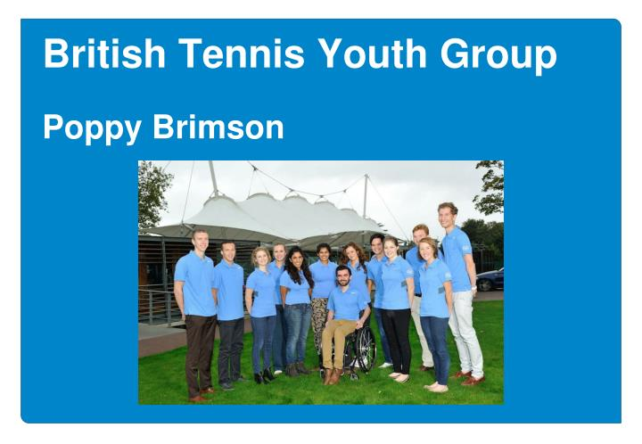 British Tennis Youth Group