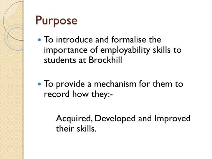the importance of employability skills