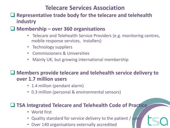 Telecare services association
