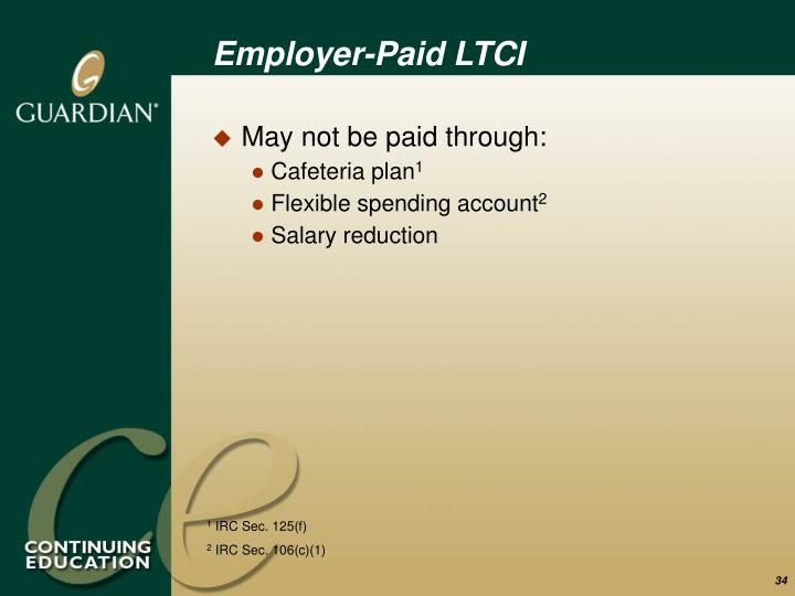 Employer-Paid LTCI