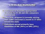 ltess background
