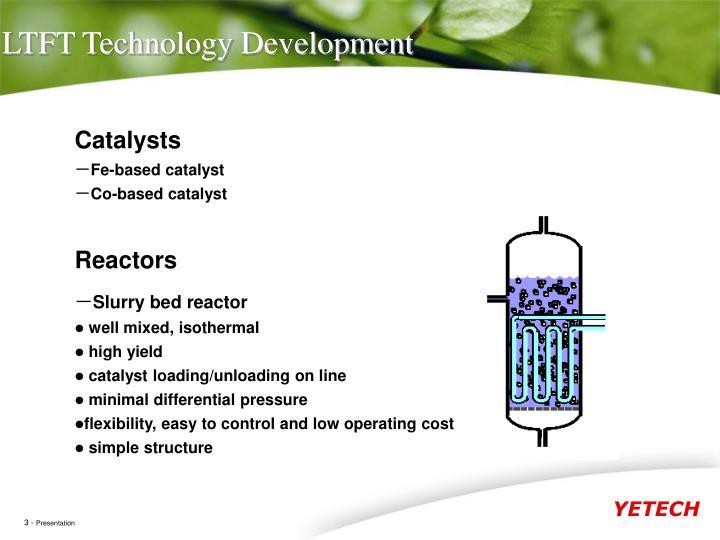 LTFT Technology Development