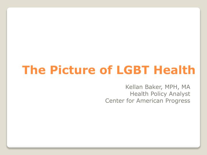 the picture of lgbt health n.