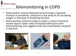 telemonitoring in copd