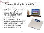 telemonitoring in heart failure
