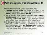 pvm mok toj registravimas 2