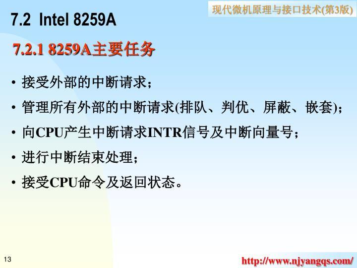 7.2  Intel 8259A
