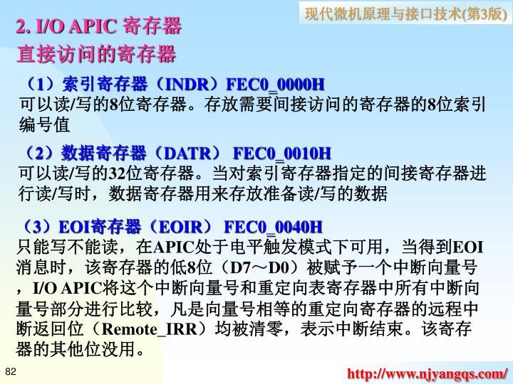 2. I/O APIC