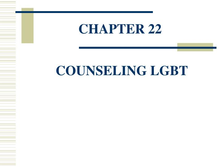 chapter 22 counseling lgbt n.