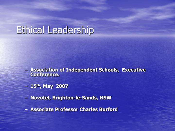 ethical leadership how do we make a difference ethical leadership n.