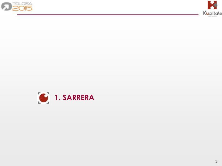 1. SARRERA