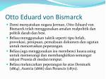 otto eduard von bismarck